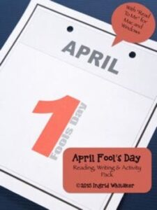 April Fools' Day Reading, Writing and Activity Pack